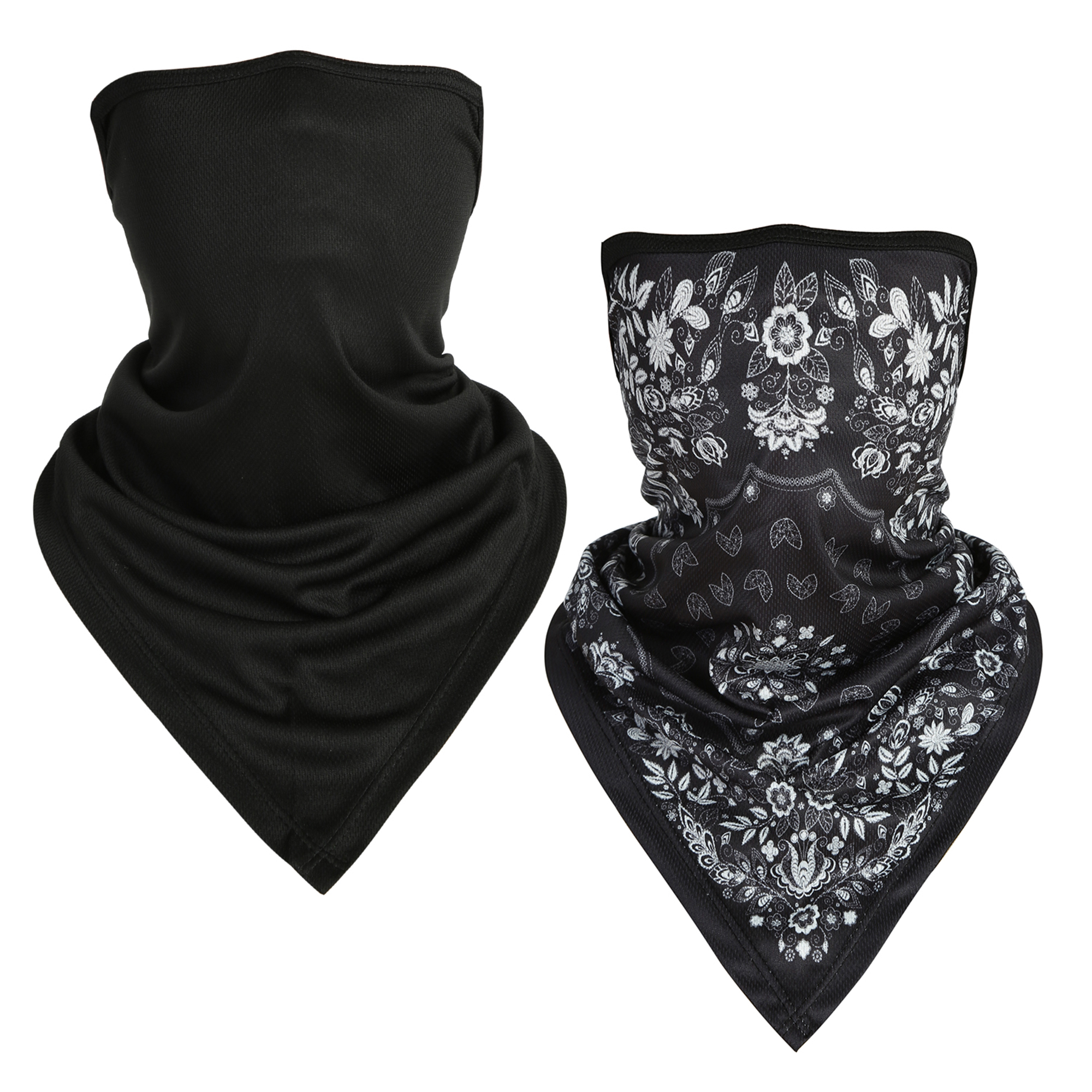 Details about  /Balaclava Neck Tube Scarf Bandana Face Cover Ear loop Headwear Sport Motorcycle