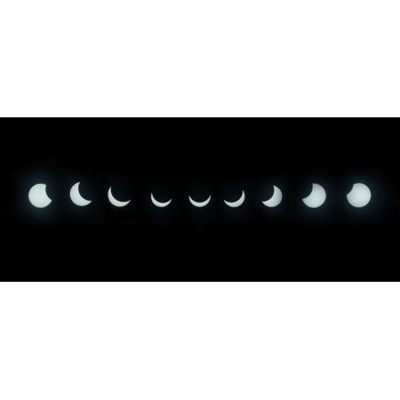 Canvas Print Sun Natural Spectacle Solar Eclipse Blackout Stretched Canvas 10 x (Hang Ten Spectacles)
