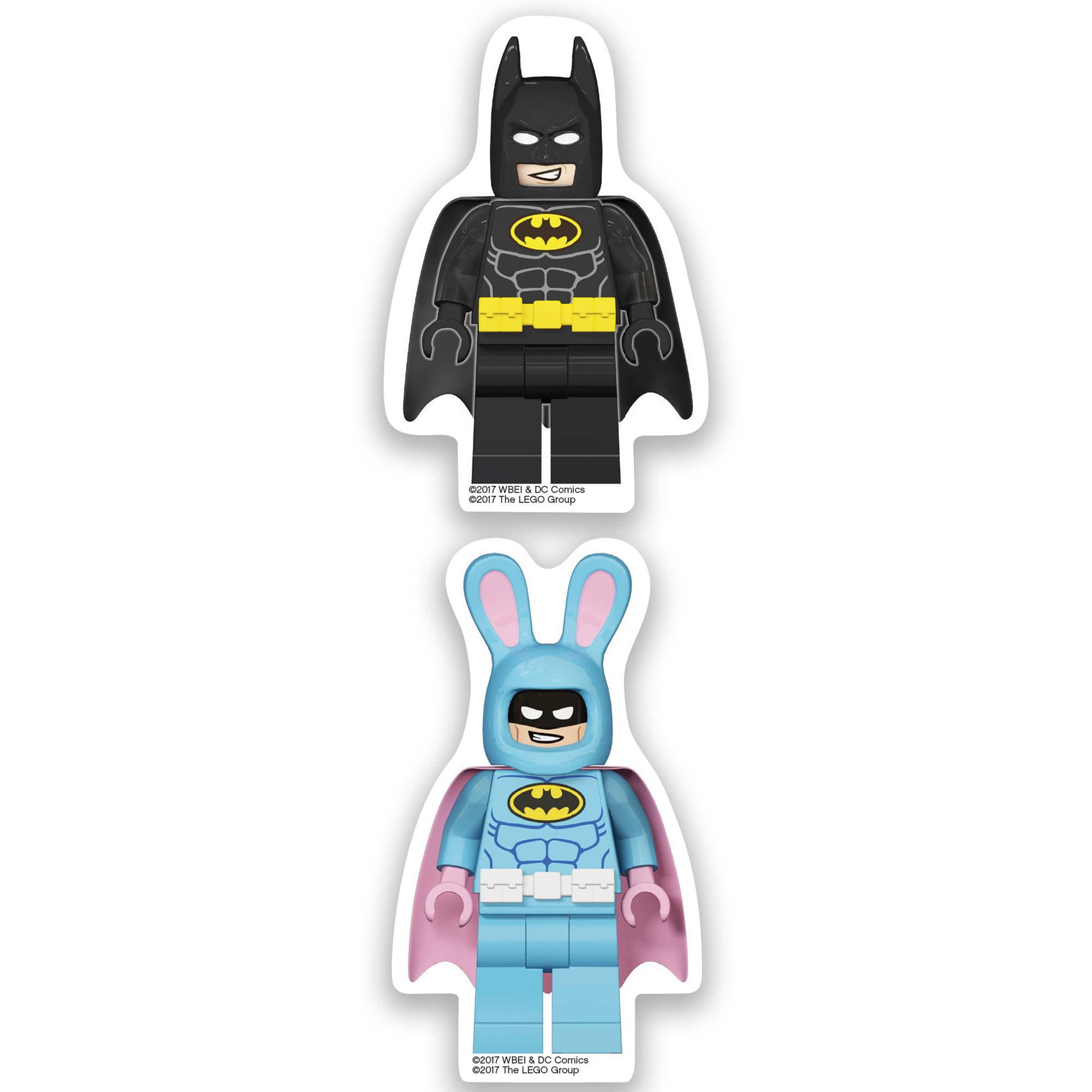 LEGO Batman Movie Erasers, 2pk, Batman/Easter Bunny
