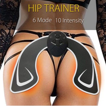 Smart Buttocks Trainer ABS Stimulator Hips Lift Muscle Training Bum Shaping Home Office Exercise Fitness (Best Exercises For A Tight Bum)