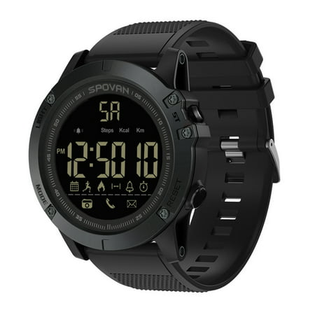 Outdoor Digital Smart Sport Watch for Men with Pedometer Wrist Watch for iOS and Android 50M (Outdoor Sport Wrist Watch)