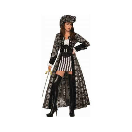 Womens Captain Silva Blackskull Halloween Costume
