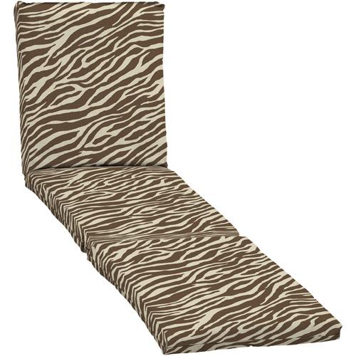 Mainstays Chaise Cushion, Zebra
