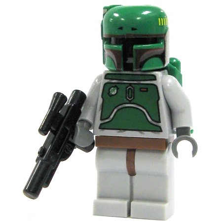 Lego star wars loose boba fett minifigure loose - Lego star wars 1 2 3 4 5 6 ...