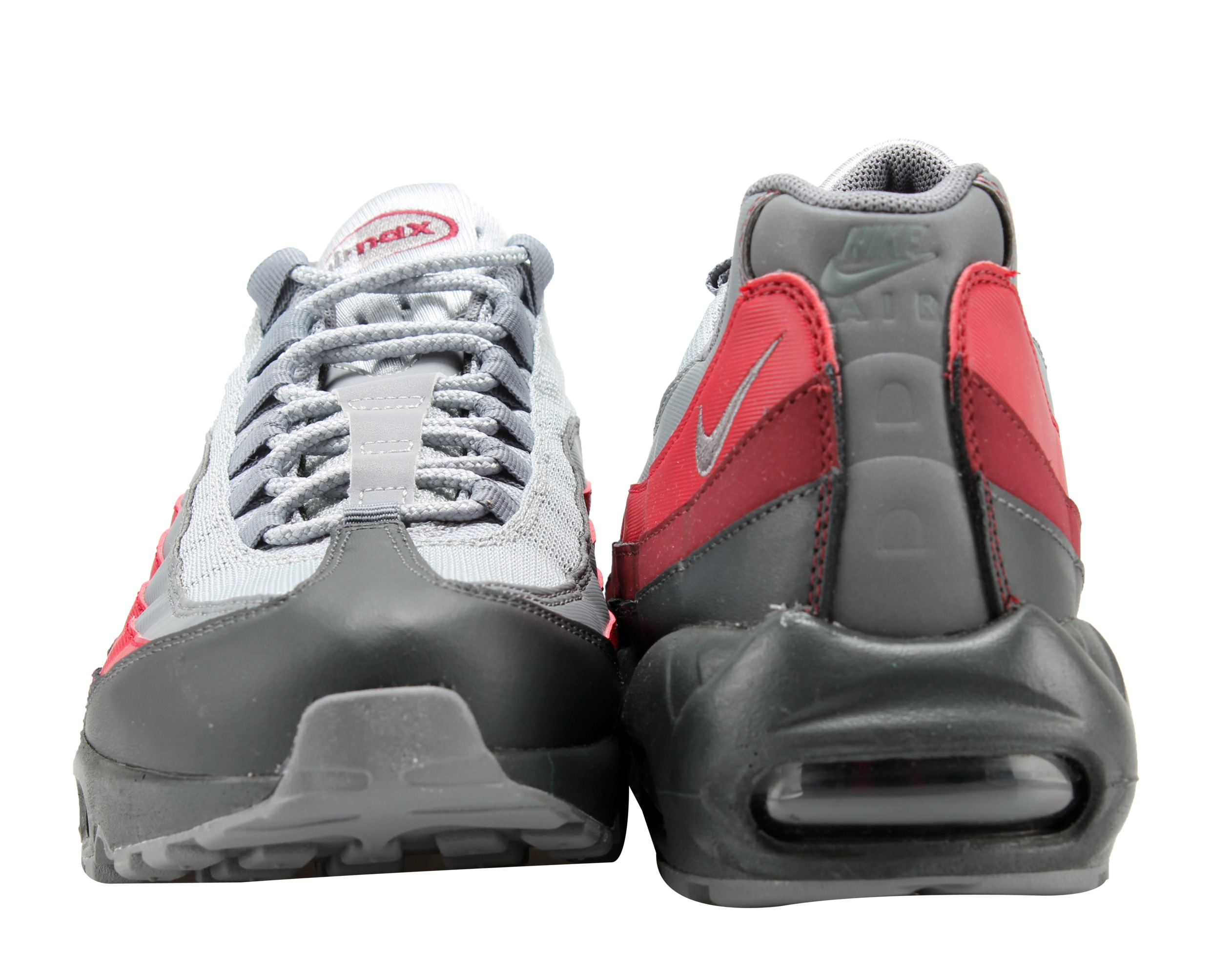 26ad5c79cdd4b Nike - Nike Air Max 95 Essential Anthracite Grey-Red Men s Running Shoes  749766-025 - Walmart.com
