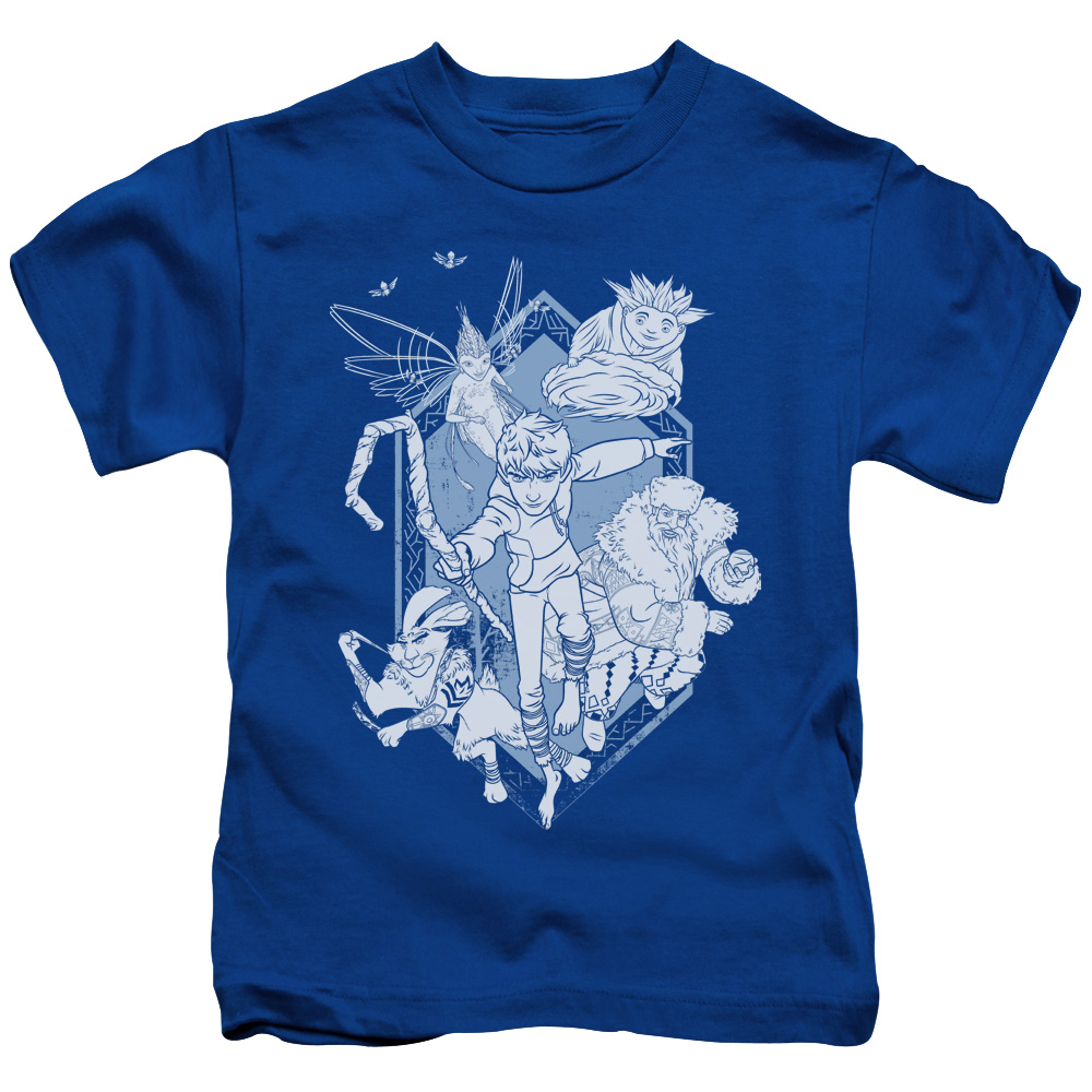 RISE OF THE GUARDIANS/COMING FOR YOU-S/S JUVENILE 18/1-ROYAL BLUE-MD(5/6)