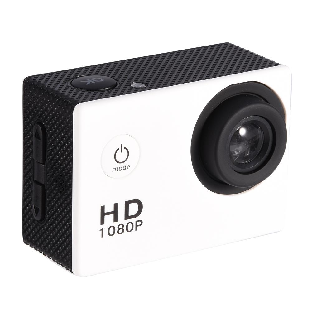 White Waterproof Outdoor Cycling Sports Mini DV Action Camera Camcorder