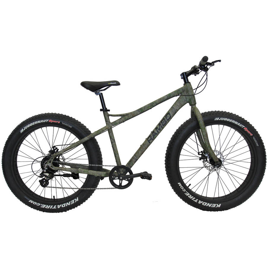 Rambo Bikes R35C Camo Non Motorized Fat Bike