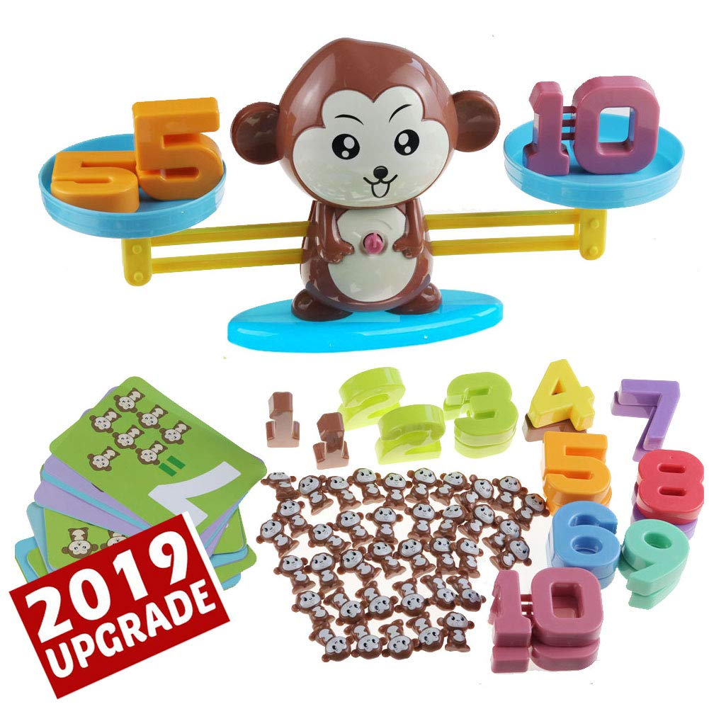 Upgraded Monkey Balance Cool Math Game STEM Montessori ...