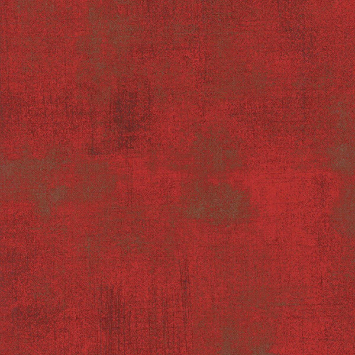 Moda Fabrics Grunge Texture New Colors 2017~ Formula One Red Cotton Fabric