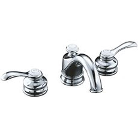 Kohler Fairfax Widespread Bathroom Faucet With Lever Handles - Kohler fairfax widespread bathroom faucet
