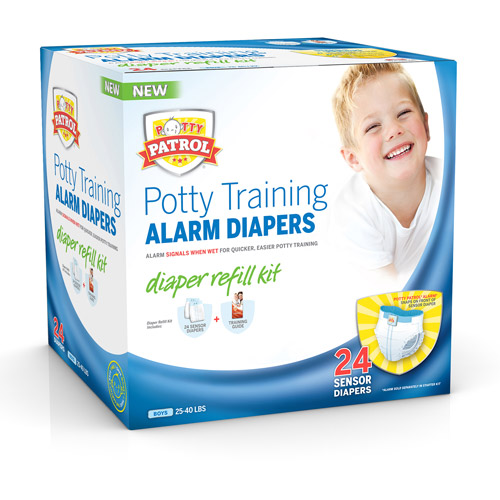 Potty Patrol Alarm Diapers Refill Kit