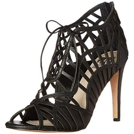 DV by Dolce Vita Women's Timba Dress Sandal, Black, 10 M