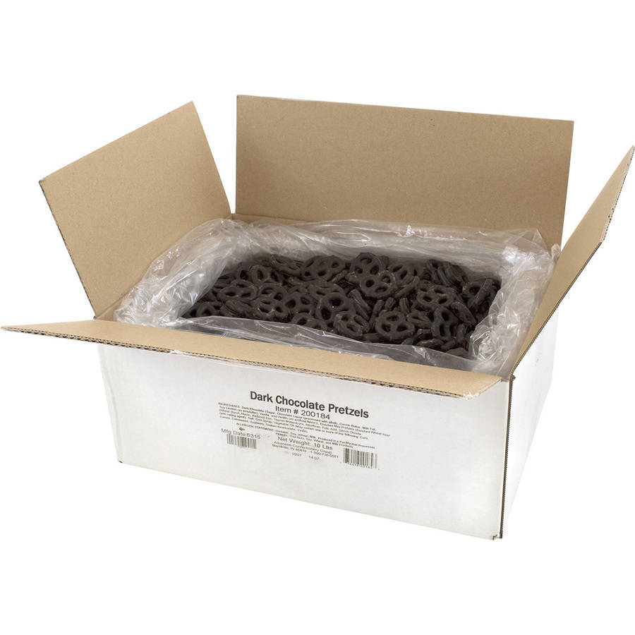 Albanese Confectionery Dark Chocolate Mini Pretzels, 10 lbs