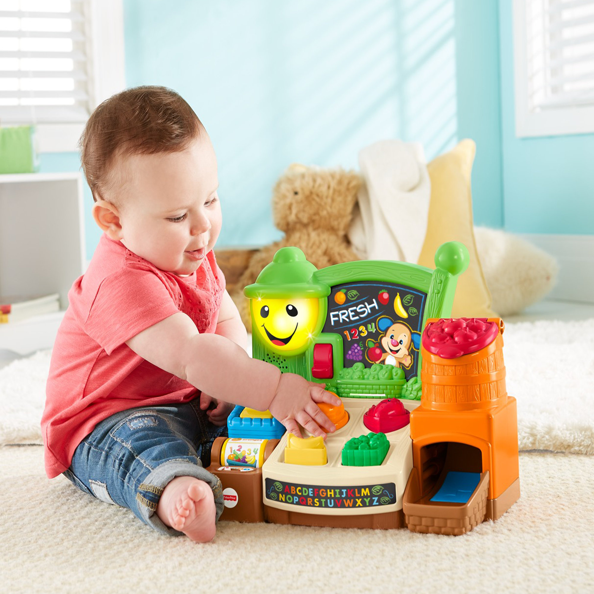 Fisher Price Laugh & Learn Fruits & Fun Learning Market by Fisher-Price