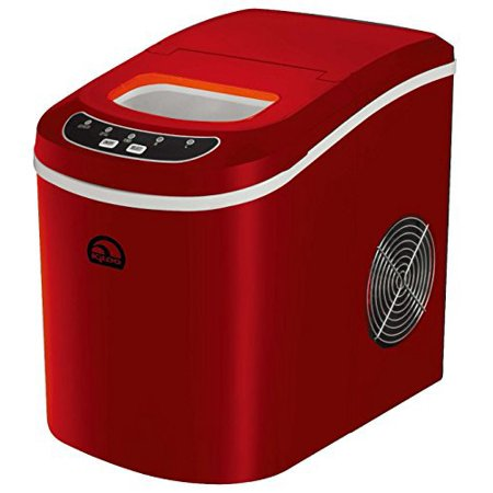 Igloo Countertop Compact 26 lb. Portable Freestanding Ice Maker, Red ...