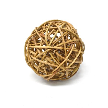 - Decorative Curly Willow Ball Bowl Filler, Natural, 4-Inch