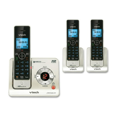 VTech LS6425 3 DECT 60 Expandable Cordless Phone With Answering System And Caller ID