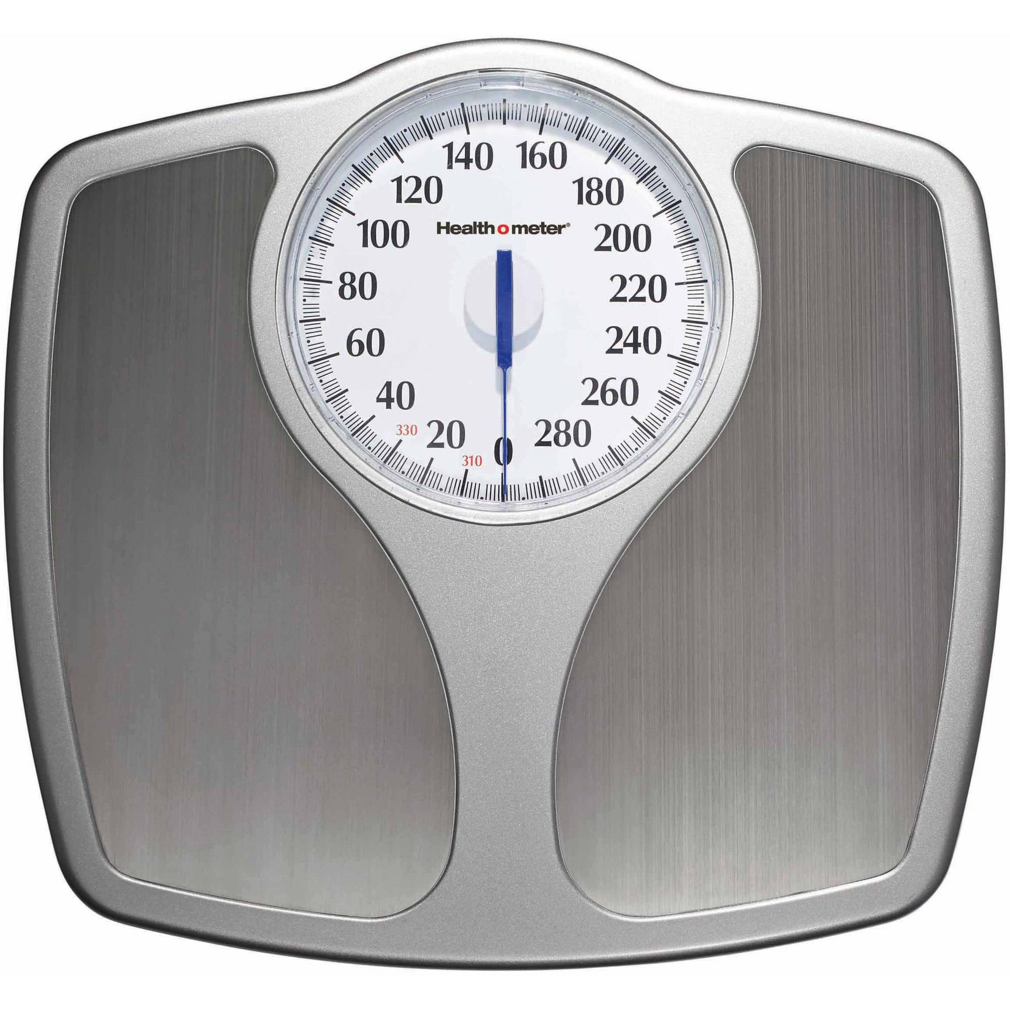 Health o meter Home Dial Premium Scale, Stainless Steel, HAB401DQ-99