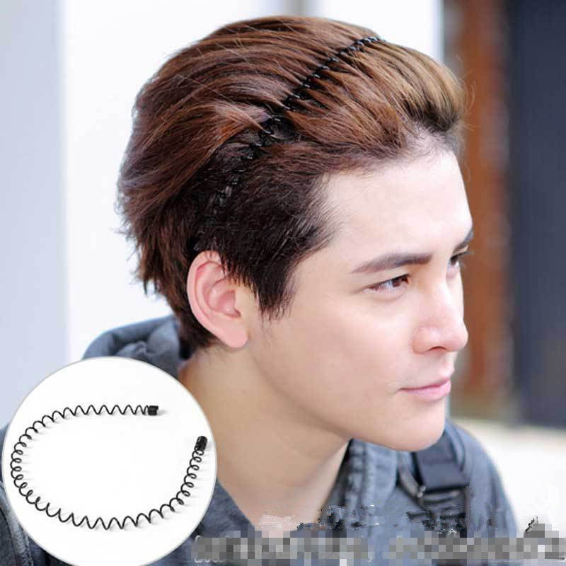 6x Metal Sports Hairband Headband Wave Style Hair band for Men Women Excelle @he