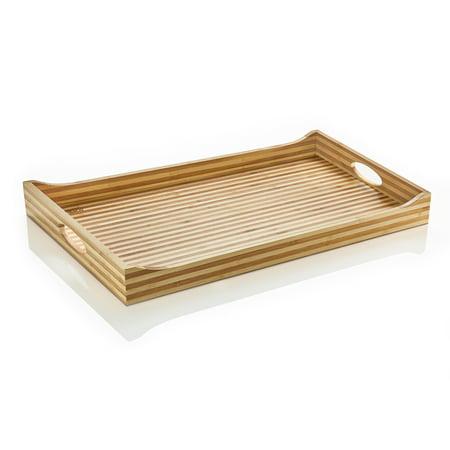 Prosumer S Choice Bamboo Ultra Light Serving Ottoman Tray