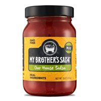 My Brother's Salsa Our Mild House Salsa, 16 oz, Perfect Salsa for Tacos, Queso, Tortilla Chips