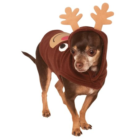 Reindeer Hoodie Pet Costume - Reindeer Costume For Dogs