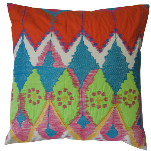 Koko Company Java Bright Cotton Throw Pillow