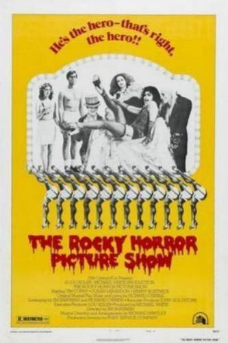 THE ROCKY HORROR PICTURE SHOW MOVIE POSTER New 1218