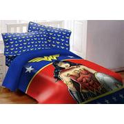 Wonder Woman 3 Piece Twin Comforter Set