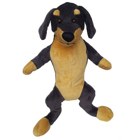 Cuddly Soft 16 inch Stuffed Dachshund - We stuff 'em...you love 'em! ()