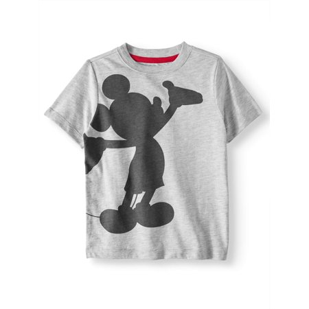 Disney Mickey Mouse Short Sleeve Fashion Tee Shirts (Little Boys & Big Boys)