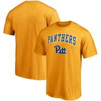 Pitt Panthers Fanatics Branded Campus T-Shirt - Gold