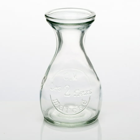 Hobnail Milk Glass Bud Vase (Richland Glass Bud Vase Clear Teardrop Set of)
