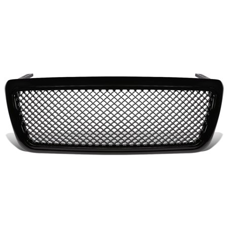 Exterior Body Parts Replacement - For 04-08 Ford F-150 11th Gen Exterior Body Kit (Black Front Grille Mesh Style) 05 06 07