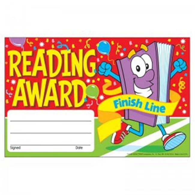 (12 Pk) Awards Reading Award Finish Line