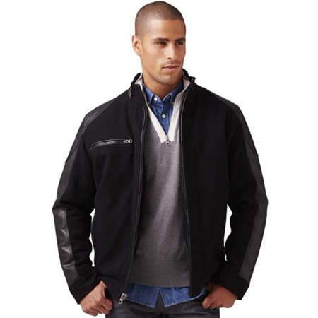 Burks Bay 5800-4XL Wool & Leather Driving Jacket - Extra