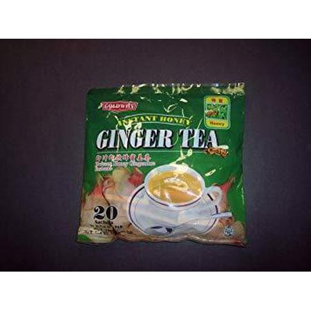 Goldwily Instant Honey Crystal Ginger Tea -20 Sachets Extension Honey Ginger