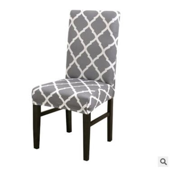 Dining Room Chair Covers Slipcovers Spandex Fabric Fit Stretch Removable Washable Short Parsons Kitchen Chair Covers Protector For Dining Room Hotel Ceremony Gray Walmart Com Walmart Com