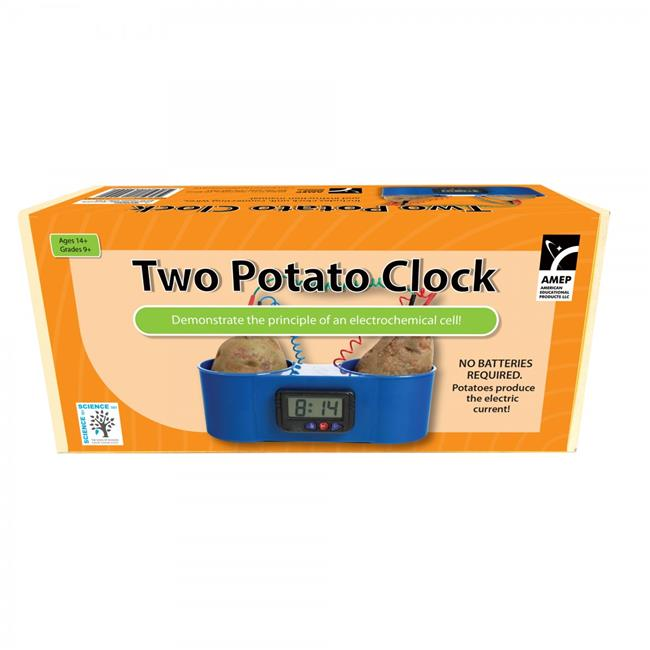 American Educational 7-1314-RT Two Potato Clock for Science Kit