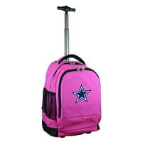 Dallas Cowboys 19'' Premium Wheeled Backpack - Black - No Size