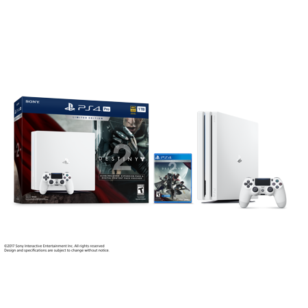 Playstation 4 Pro 1Tb Gaming Console With Destiny 2