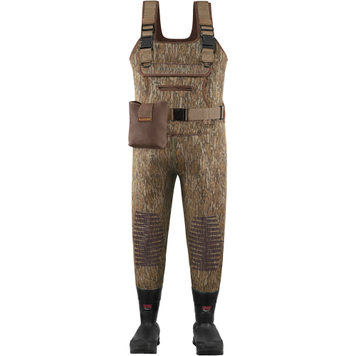 LaCrosse Swamp Tuff Hunting Chest Wader Mossy Oak with Removable EVA Footbed For All-Terrain-Size 12 by LaCrosse Footwear