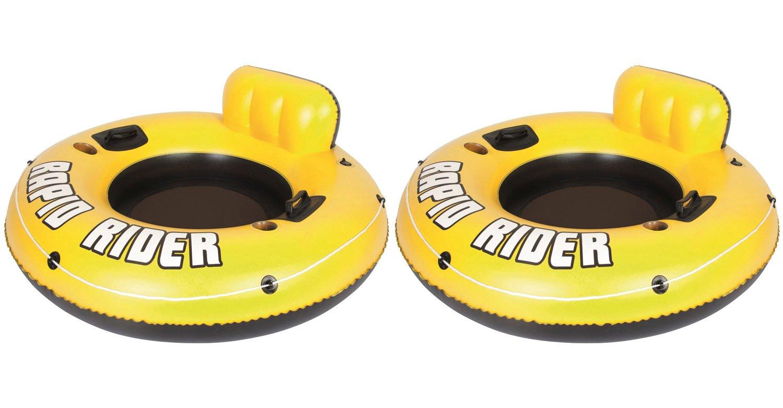 """2-Pk Bestway Rapid Rider 53"""" Raft Tubes"""