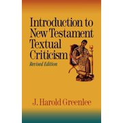 Introduction to New Testament Textual Criticism (Paperback)