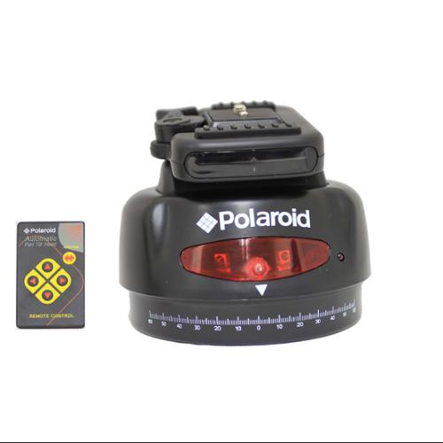Polaroid Automatic Motorized Head W/Wireless Remote For SLR Cameras & Camcorders