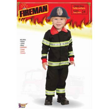 CHCO-FIREMAN-TODDLER (Toddler Fireman Costumes)