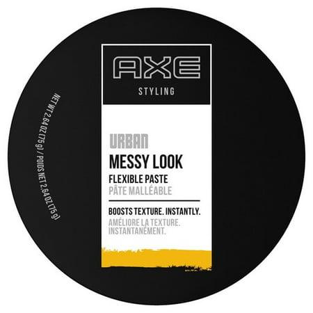 AXE Messy Look Hair Paste Flexible 2.64 oz(pack of