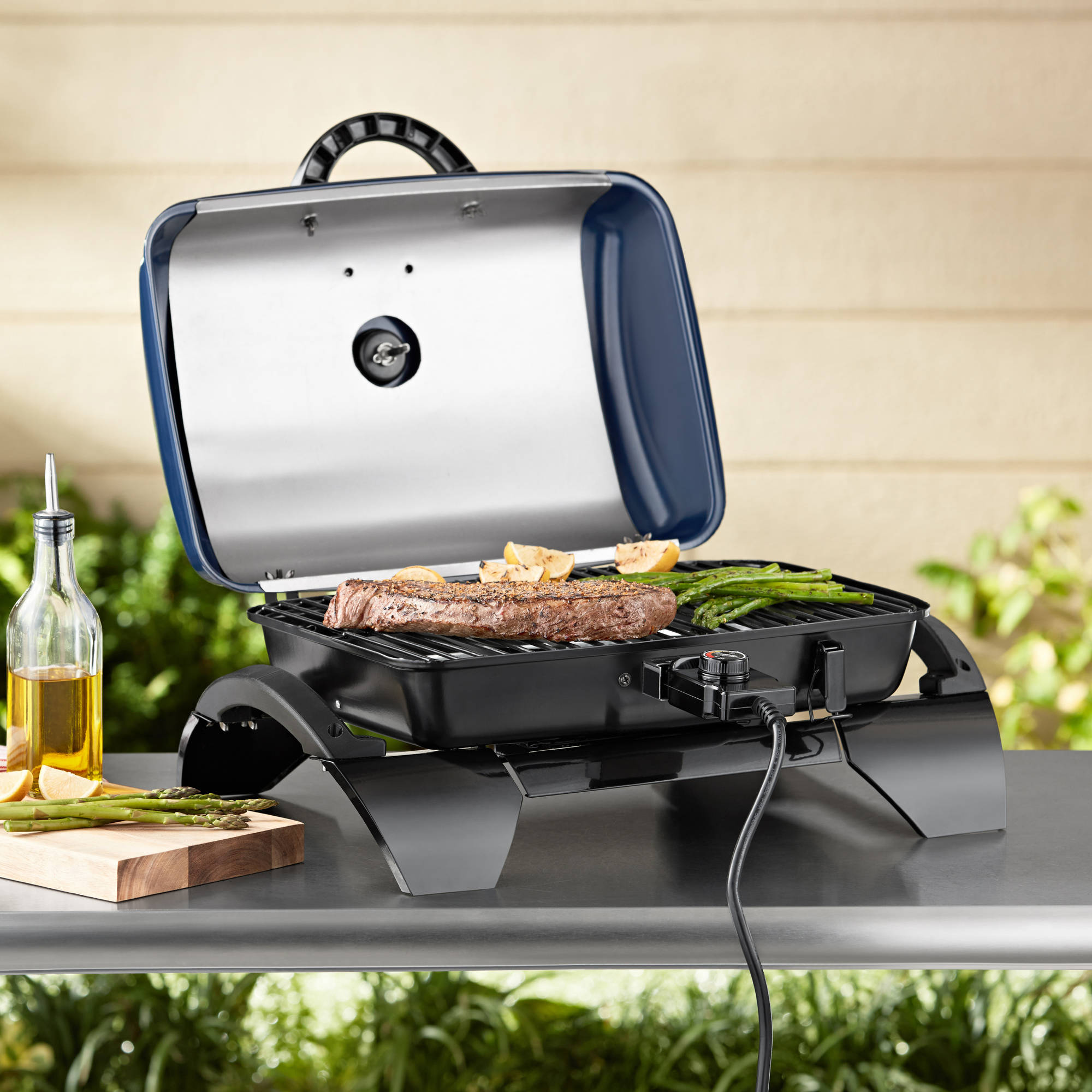 Nice Cuisinart Portable Outdoor Electric Grill With Versastand