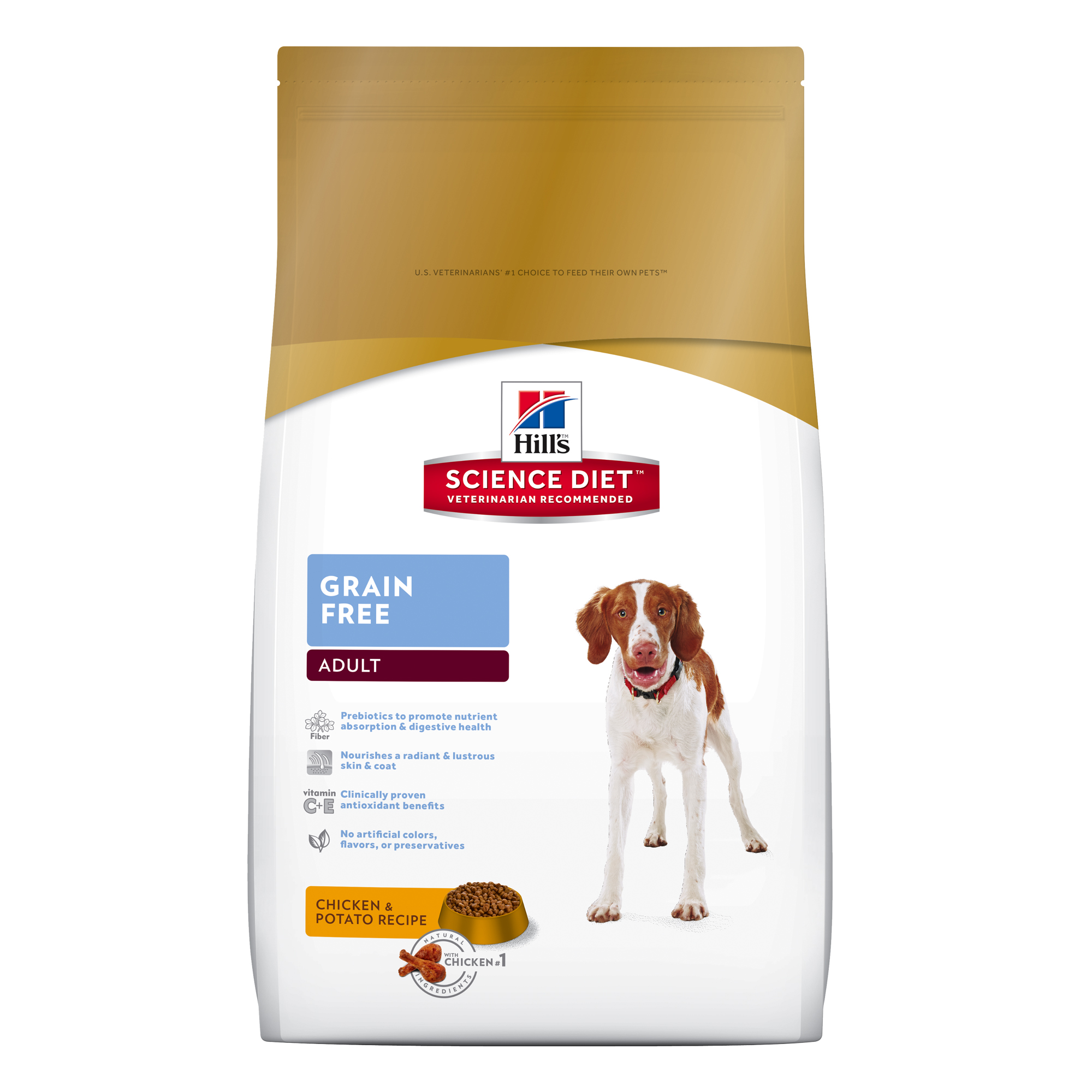 Hill's Science Diet (Spend $20,Get $5) Adult Sensitive Stomach & Skin Grain Free, Chicken & Potato Dry Dog Food